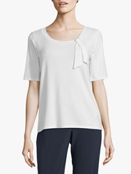 Betty Barclay Tie Top Offwhite