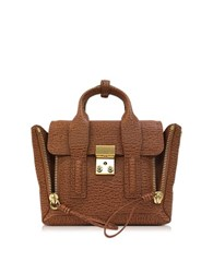 3.1 Phillip Lim Pashli Caramel And Cognac Leather Mini Satchel
