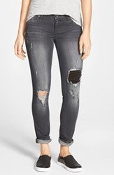 Women's Kut From The Kloth 'Catherine' Destroyed Boyfriend Jeans Give Grey