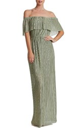 Dress The Population Women's Athena Maxi Sage Gold