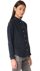 Dl1961 Mercer And Spring Shirt Black Overdye Distressed