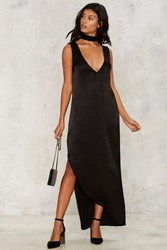 Back To The Woods Maxi Dress Black
