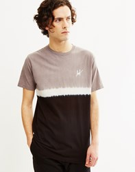 Huf Stripe Wash T Shirt Black