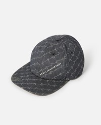 Stella Mccartney Blue Monogram Baseball Cap