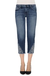 Joe's Jeans Women's Smith Embroidered Applique Crop