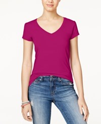 Energie Juniors' Mila V Neck Tee Boysenberr