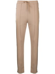 Joseph Creased Track Trousers Brown