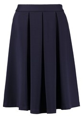 Louche Majori Aline Skirt Navy Dark Blue