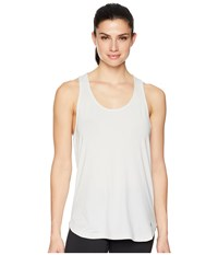 Asics Flex Tank Top Brilliant White Heather Sleeveless