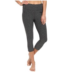 The North Face Motivation Crop Leggings Tnf Dark Grey Heather Women's Casual Pants Gray