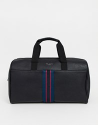 Ted Baker Yours Webbing Holdall In Black