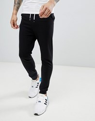 Another Influence Basic Slim Fit Joggers Black