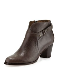 Anyi Lu Cynthia Leather Ankle Boot Graphite Grey