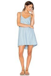 Rvca Salene Dress Blue