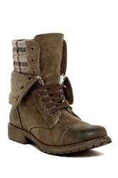 Roxy Riley Faux Fur Lined Foldover Boot Brown