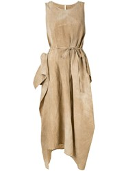 Forme D'expression Tent Dress Brown