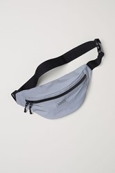Handm H M Reflective Belt Bag Gray