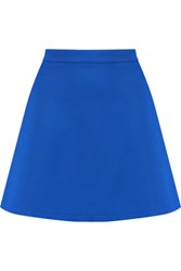Etre Cecile Stretch Jersey Mini Skirt Royal Blue