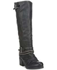 Carlos By Carlos Santana Candace Buckle Boots Women's Shoes Black