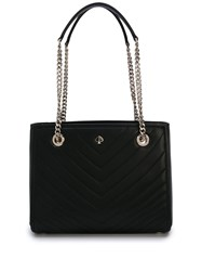 Kate Spade Quilted Logo Tote Black