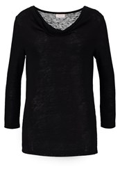 Vila Visumi Long Sleeved Top Black
