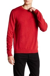 Wallin And Bros Trim Fit Crew Neck Sweater Red