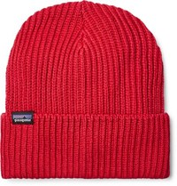 Patagonia Ribbed Knit Beanie Red