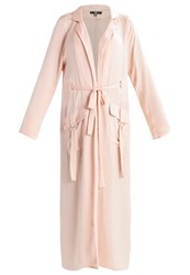 Missguided Tall Trenchcoat Nude