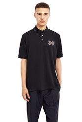 J.W.Anderson New Logo Polo Shirt Black
