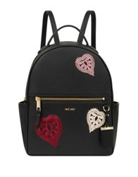 Nine West Briar With Heart Patches Backpack Black