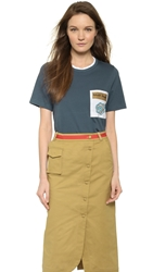 Ostwald Helgason Tee With Pocket Thunder