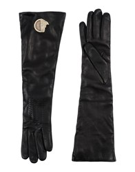 Versace Collection Gloves Black