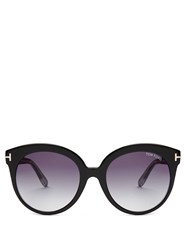 Tom Ford Monica Acetate Sunglasses Black