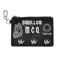 Mcq By Alexander Mcqueen Black Multi Patch Pouch