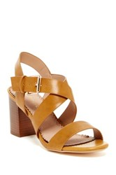 Restricted Kirby Strappy Heel Brown