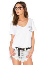 Wildfox Couture Daytime Napper Tee White