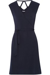 Tart Collections Charmaine Cutout Stretch Modal Dress Storm Blue