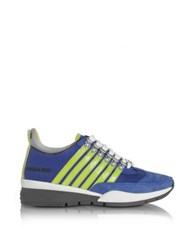 Dsquared2 551 Blue And Green Men's Sneaker Blue Green
