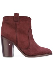 Laurence Dacade 'Pete' Ankle Boots Pink Purple