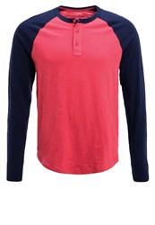 Gap Long Sleeved Top Weathered Red
