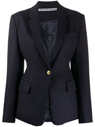 Alexander Wang Tailored Single Breasted Blazer 60