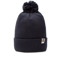 A Bathing Ape Knit Cap Blue