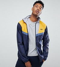 Nicce London Motion Windbreaker Jacket In Colour Block Exclusive To Asos White