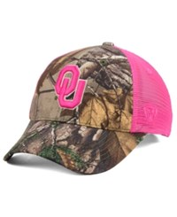 Top Of The World Oklahoma Sooners Hunter Snapback Cap Camo Pink