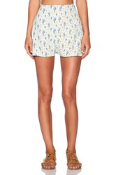 For Love And Lemons Mojavai Short Mint