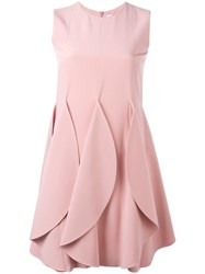 Gianluca Capannolo Petal Effect Dress Pink Purple