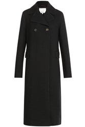 3.1 Phillip Lim Long Wool Coat Black