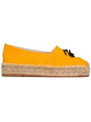 Chiara Ferragni 'Flirting' Espadrilles Yellow And Orange