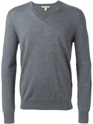 Burberry Brit V Neck Sweater Grey