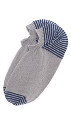 Anonymous Ism Silk And Cotton Low Cut Socks Grey